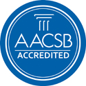Facultad de Administración de Empresas acreditada por AACSB.