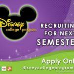 Programa de empleo Disney