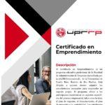 Sobre el Certificado de Emprendimiento